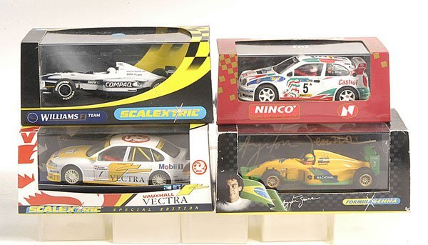 4: Scalextric and other Slot Cars.