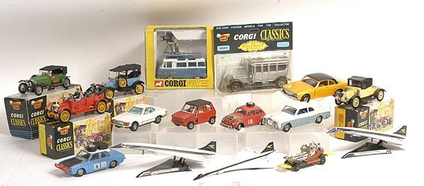 5: Corgi boxed and unboxed models