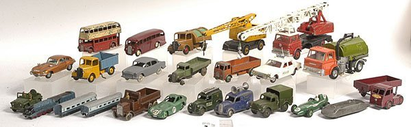 7: Dinky a group of assorted models.