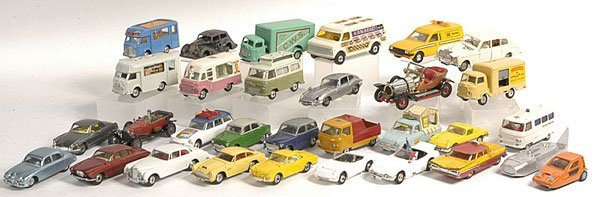 8: Corgi assorted models from the 1950s onwards