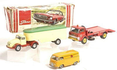 10: Tekno assorted diecast Trucks