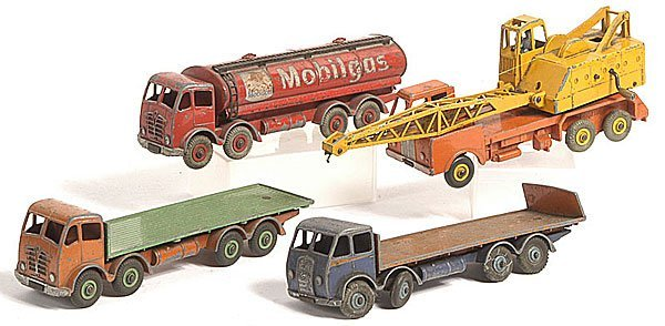12: Dinky Fodens and Lorry Mounted Crane