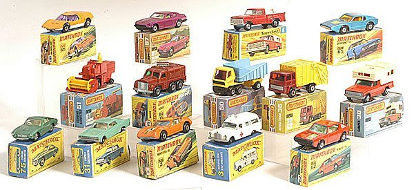 14: A Group of Matchbox 1-75 Series
