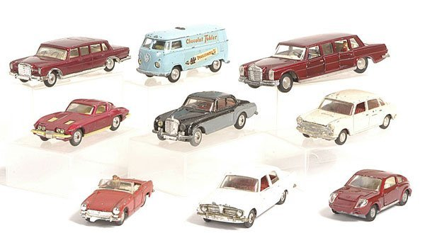 18: Spot-on, Dinky and Corgi Cars.