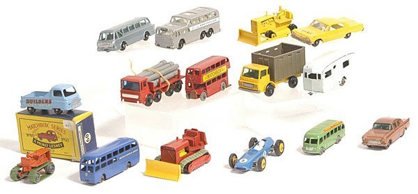 20: Matchbox mainly unboxed 1-75 Series