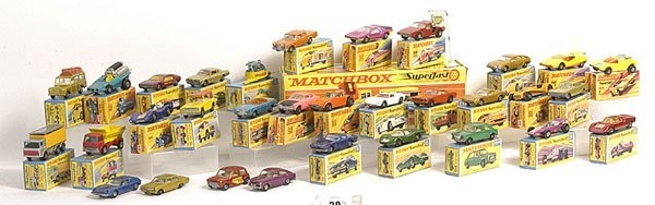 30: Matchbox 1-75 and Superfast Models