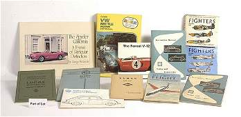 405 Vintage Car  Aircraft Manuals  Reference Books