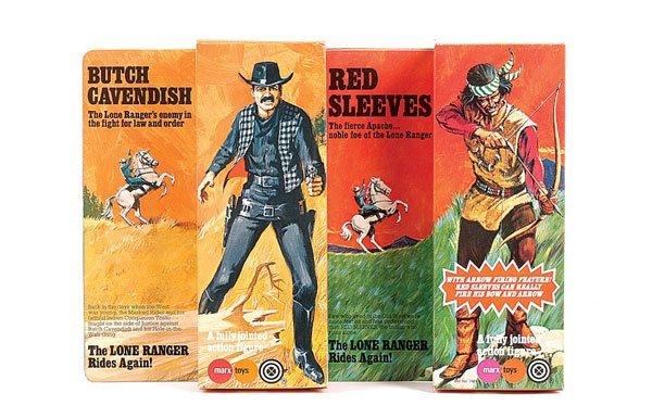 "1400: Marx ""The Lone Ranger"" No.7402 Butch Cavendish"