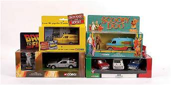 1442: Corgi - A Group of VT & Film Related Vehicles
