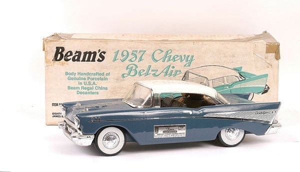1587: Beam's 1957 Chevy Bel Air Whisky Decanter