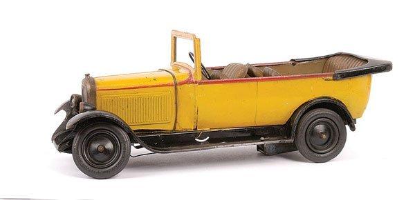 1588: Citroen 1920s Tinplate Clockwork Car
