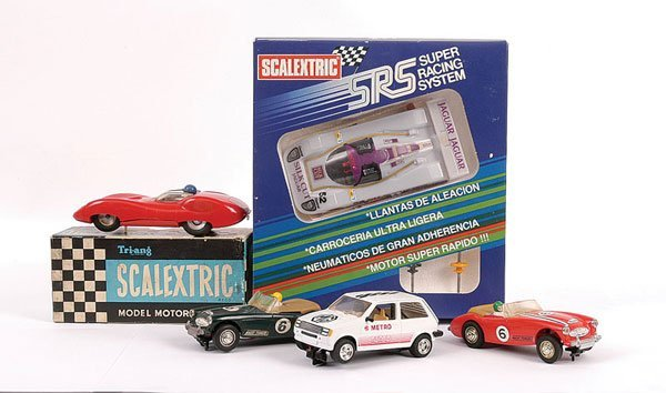 2001: Scalextric - A Group of Slot Cars