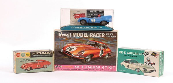 2003: Group of 1/32nd scale Slot Cars.