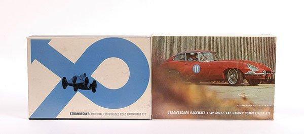 2004: Strombecker Raceways 2 x 1/32nd Slot Car Kits.