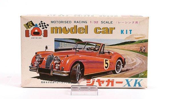 2005: Doyusha (Japan) 1/32nd Jaguar XK140 Slot Car Kit