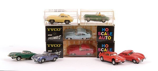 2012: Group of HO scale Slot Cars.