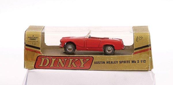 2016: Dinky No.112 Austin Healey Sprite