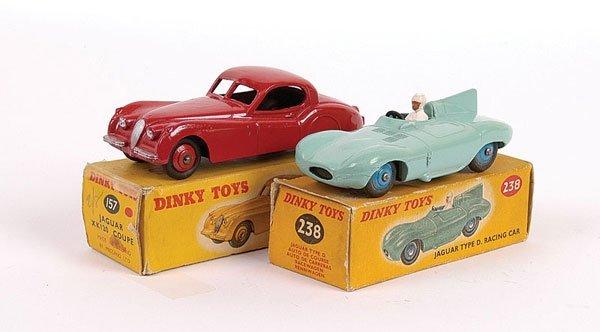 2024: Dinky pair of Jaguar Cars.