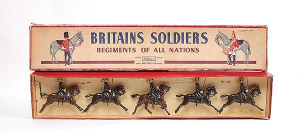 3003: Britains - Set 8 - 4th Hussars - 1948