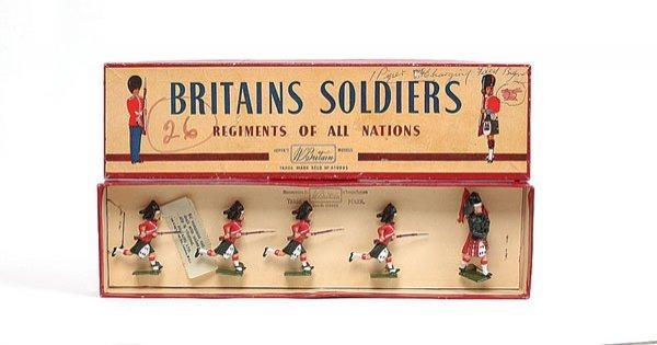 3004: Britains - Set 11 - The Black Watch