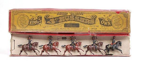 3006: Britains - Set 13 - 3rd Hussars - 1903 version