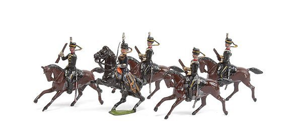 3007: Britains - Set 13 - 3rd Hussars - 1903 version