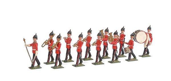 3008: Britains - Set 27 - Line Infantry Band