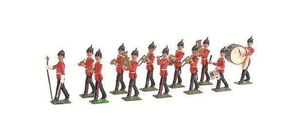 3009: Britains - Set 27 - Line Infantry Band