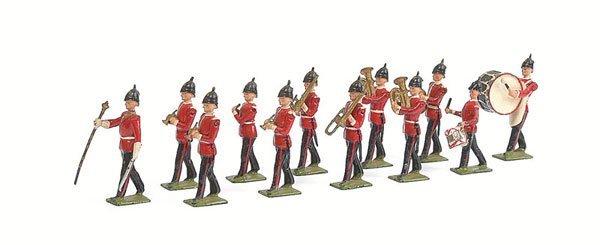 3010: Britains - Set 27 - Line Infantry Band