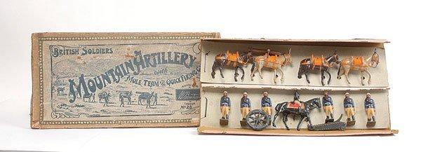 3011: Britains - Set 28 - Mountain Artillery - 1910