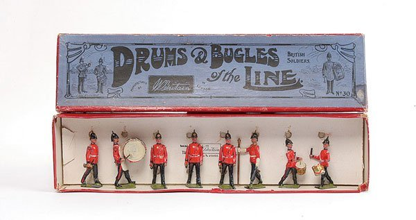 3013: Britains - Set 30 - Drums & Bugles of the Line