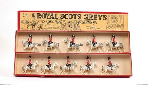 3014: Britains - Set 32 - Royal Scots Greys Post War