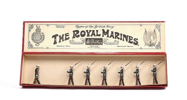 3016: Britains - From Set 35 - Royal Marines - 1938