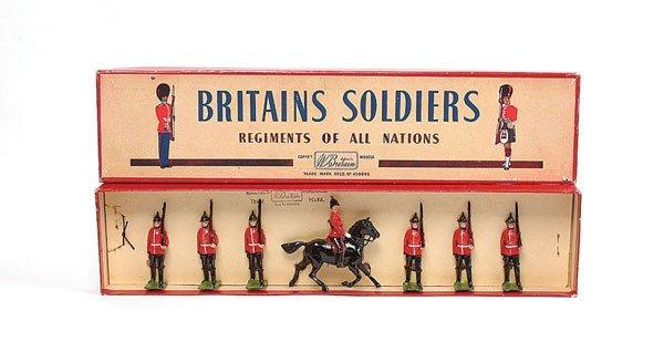 3017: Britains - Set 36 - The Royal Sussex Regiment