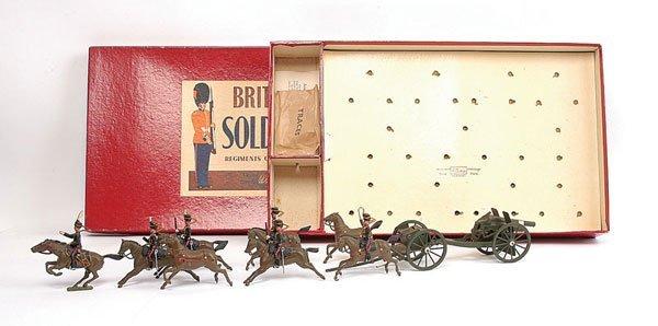 3018: Britains - Set 39 - Royal Horse Artillery - 1956