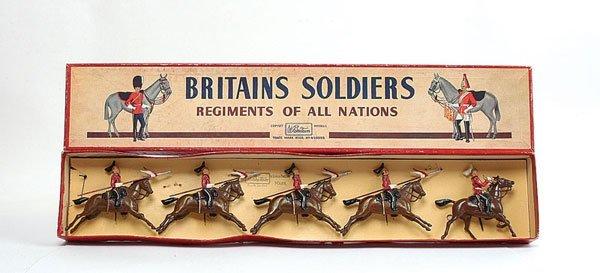 3019: Britains - Set 44 - Queens Bays - 1950 version