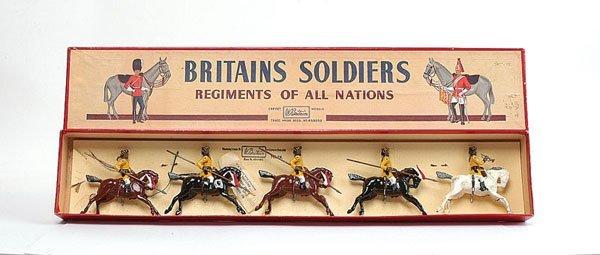 3020: Britains - Set 47 - Skinners Horse - 1950