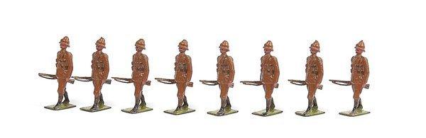 3023: Britains - Set 110 - Devonshire Regiment 1916