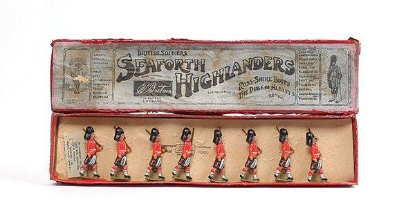 3024: Britains - Set 112-Seaforth Highlanders-1914