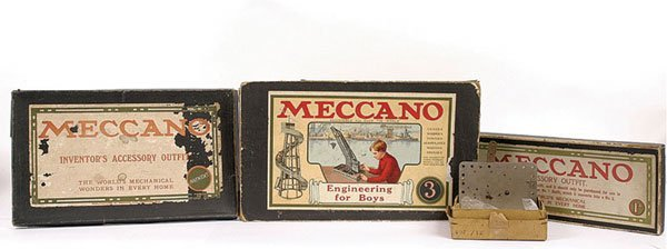 4002: Meccano Early WW1 Nickel Outfits