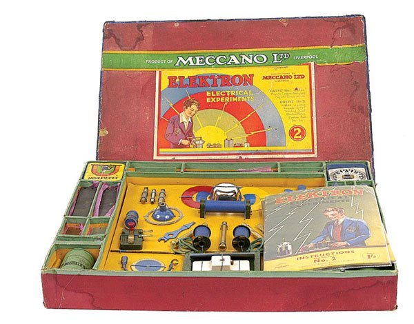 4012: Meccano 1933-34 Elektron Set No.2