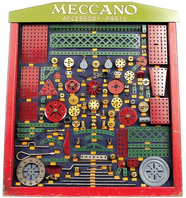 4056: Meccano 1930 Dealers Display Cabinet