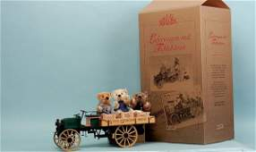 364: Steiff Delivery Cart with Teddy Bears, 2003