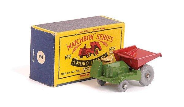 1003: Matchbox No.2b Site Dumper