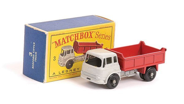 1004: Matchbox No.3b Bedford TK Tipper