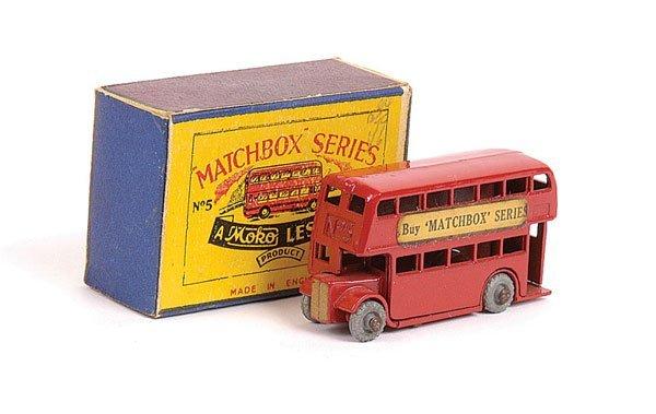 """1006: Matchbox No.5a London Bus """"Buy Matchbox Series"""""""