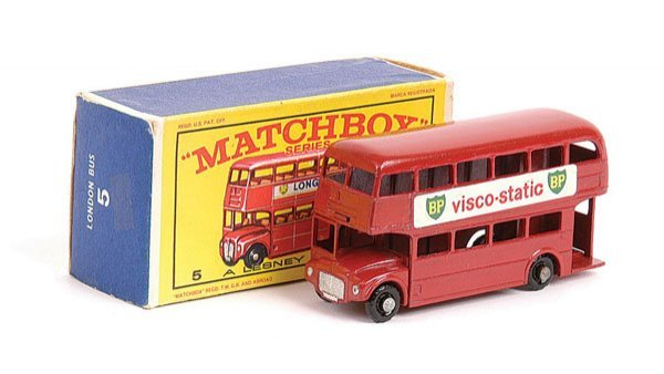 "1007: Matchbox No.5c London Routemaster Bus ""BP"""
