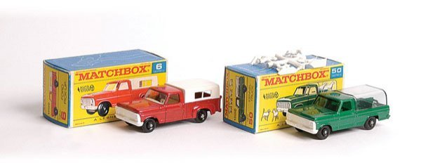 1009: Matchbox No.6d Ford Pick-up & Others
