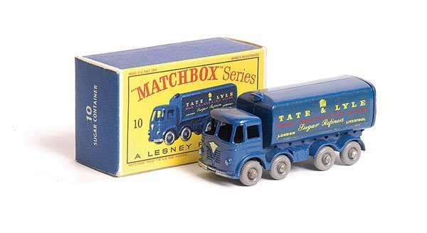 1017: Matchbox No.10c Foden Sugar Container Truck