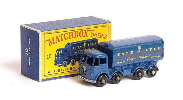 1018: Matchbox No.10c Foden Sugar Container Truck